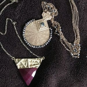 Two Marlin Schiff Necklaces...one price!